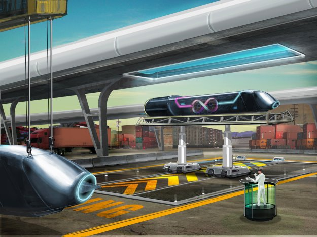 Hyperloop One Test