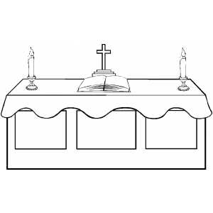 Catholic Mass Parts In Order Worksheet Sketch Coloring Page