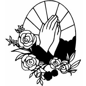 Prayer Coloring Page