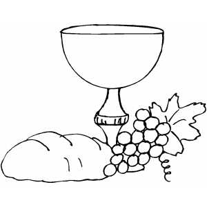 Chalice Coloring Page