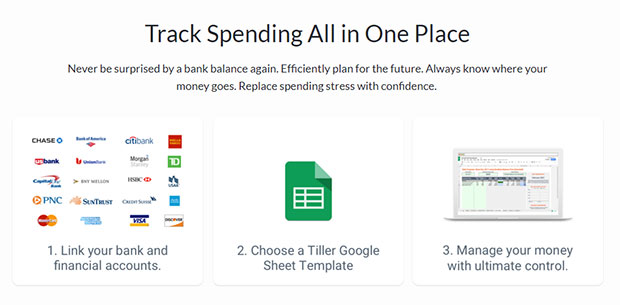 Tiller Money Review: Automated Budget Spreadsheets In Google Sheets