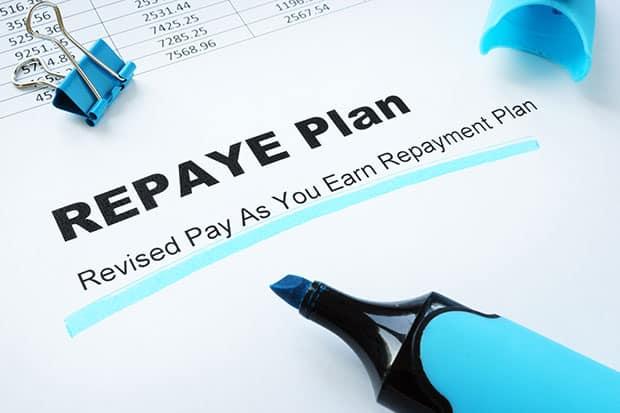 Student Loan Forgiveness REPAYE Plan