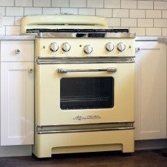 Vintage Kitchen Stoves Ikea Table Set Big Chill Retro Cooking We Also Offer Wall Ovens And Pro Hoods To Complete Any Design Put The Finishing Touches On Your With A Cool Appliance Order