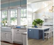 coastal themed kitchen