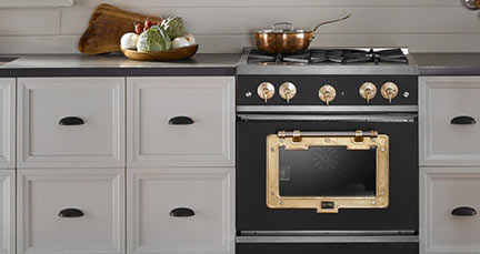 stove kitchen cabinet resurfacing retro and professional appliances big chill industrial style american by design