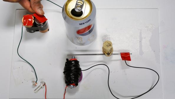 Door Bell Circuit Using Ne555