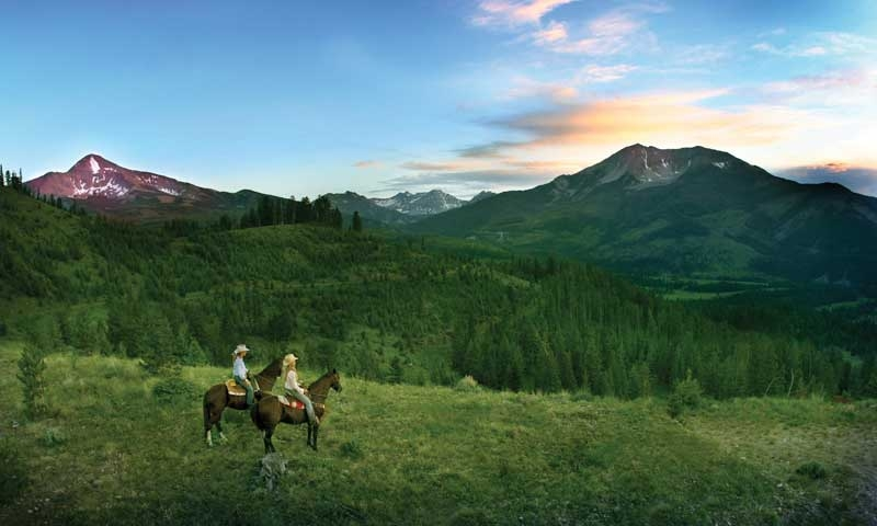 Big Sky Horseback Riding Horse Trail Rides  AllTrips