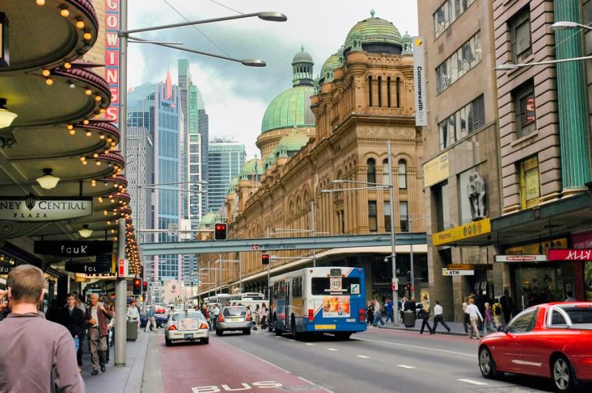 Trasporto urbano Sidney Australia