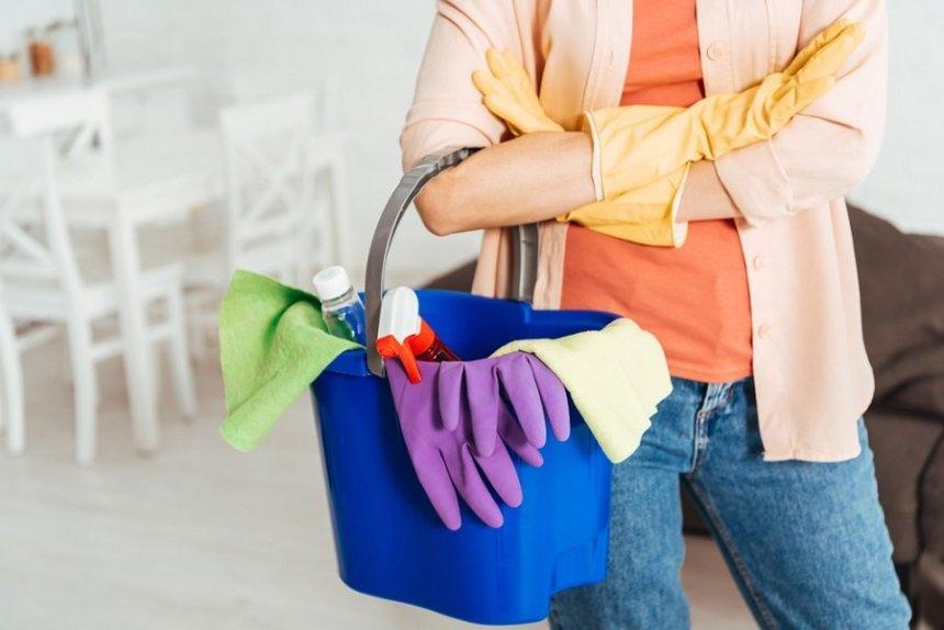 pulizia della casa