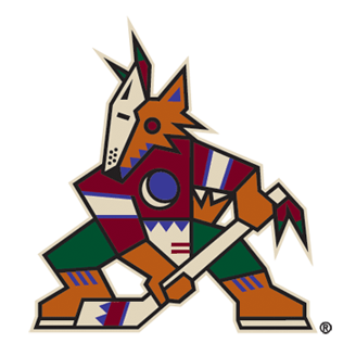 Image result for arizona coyotes new logo