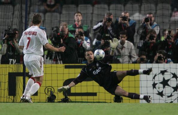Kết quả hình ảnh cho Andriy Shevchenko miss penalty