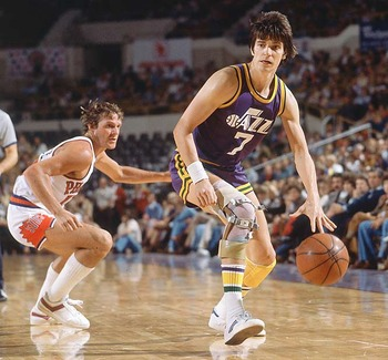 Pistol Pete Maravich...one of the greatest ballhandlers of all time!