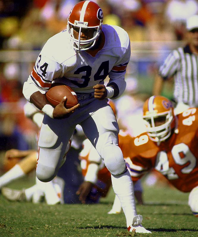 The 50 Greatest College Football Players Of All Time