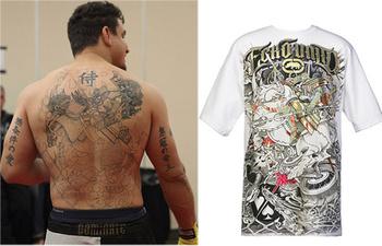The 25 Best Tattoos in MMA   Bleacher Report