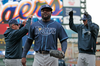 Fernando Rodney doesn't know how to wear a hat.