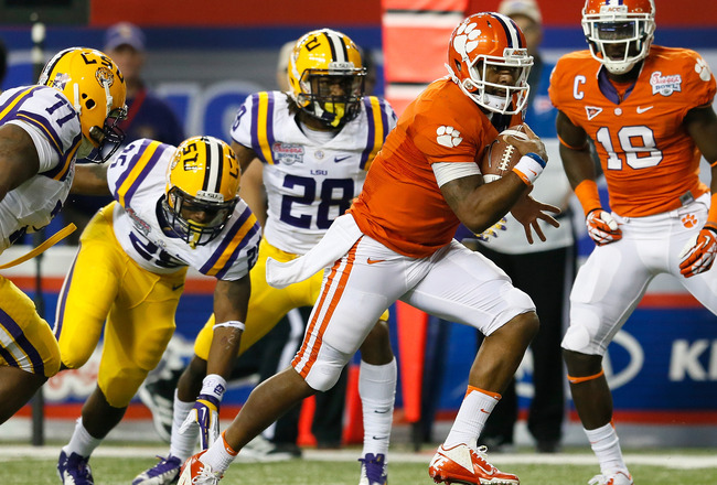 Lsu Vs Clemson Postgame Grades For Clemson S 2012 Chick
