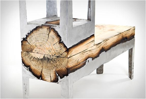 Aluminum And Wood Furniture By Hilla Shamia