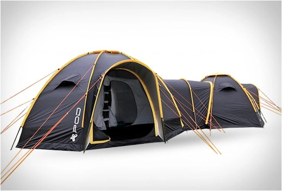 Connectable Pod Tents