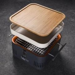 High Kitchen Table Set Resurfacing Countertops Everdure Cube Portable Grill
