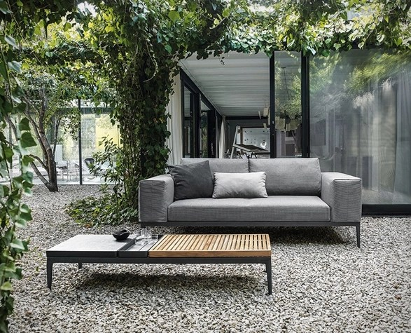 Grid Modular Outdoor Sofa