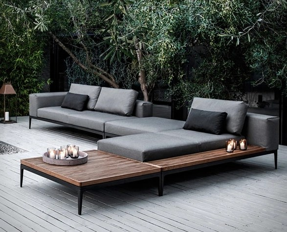 Modular Outdoor Sofa Modular Outdoor Sofa Gloster Grid By Cosh Living Selector  TheSofa
