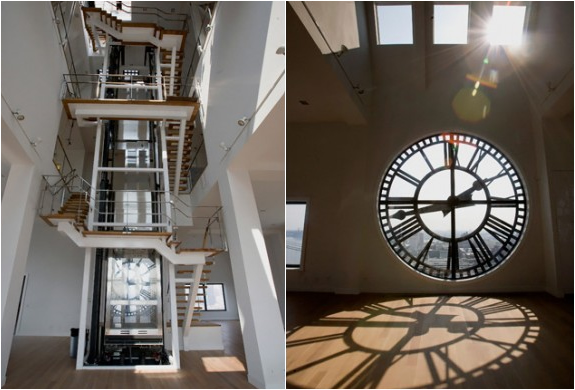 Clocktower Penthouse Apartment  Brooklyn