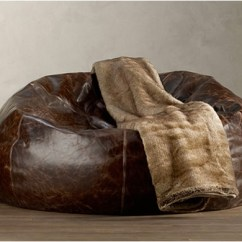 Restoration Hardware Beanbag Chair Hanging Stand Lowes Grand Leather Bean Bag By Image