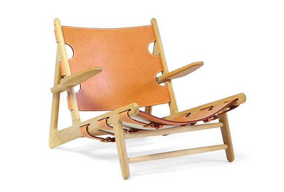 Hunting Chair  By Borge Mogensen
