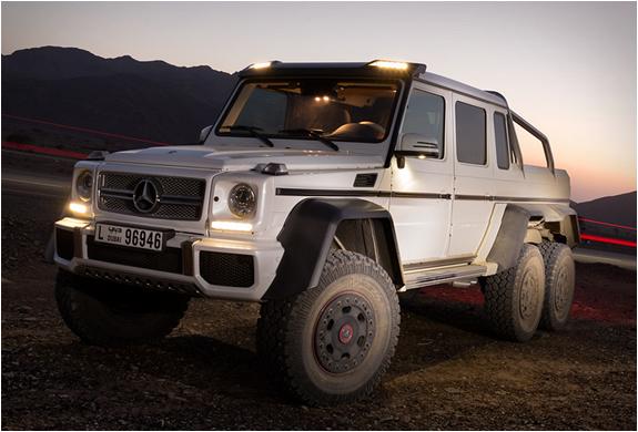 Mercedesbenz G63 Amg 6x6