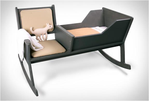 rocking chair and cradle in one pink nursery rockid 4 jpg image