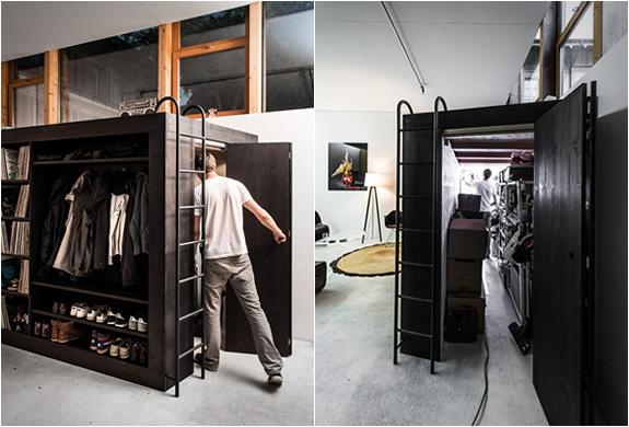 Small Apartment Storage