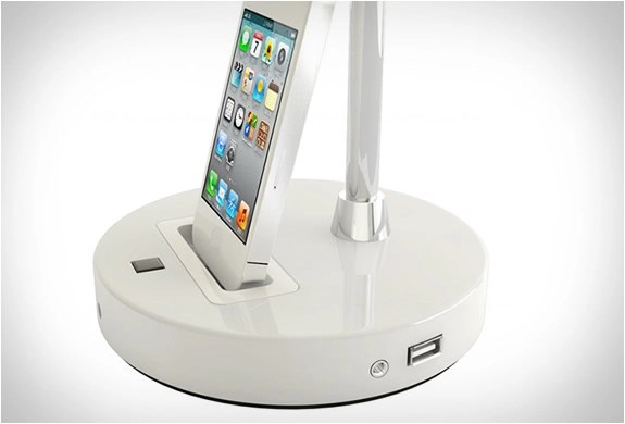 Tlight  Desk Lamp With Iphone Dock