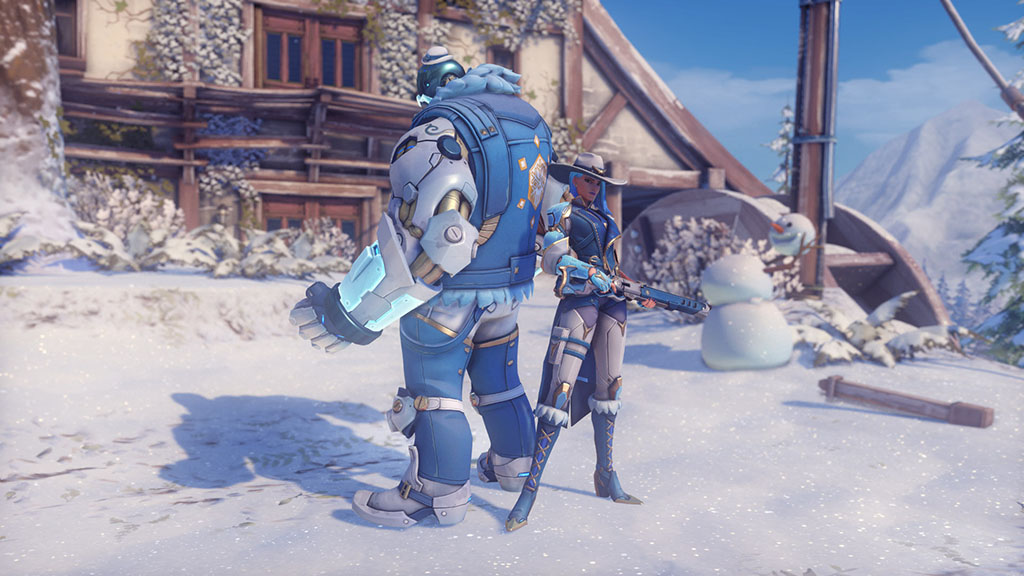 Here Are All The New Overwatch Winter Wonderland 2018