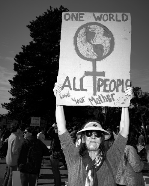 Women's March on Ventura by Peter Adams.