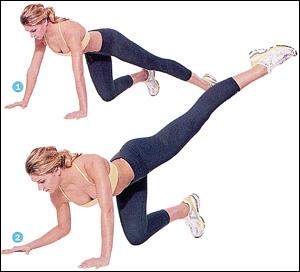 ejercicios para aumentar gluteos rapidamente