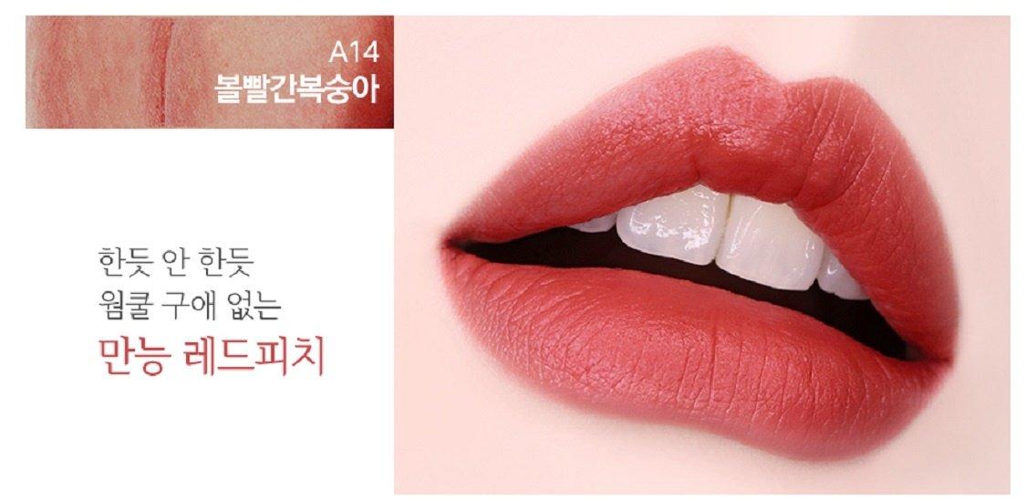 Son Kem Lì Black Rouge Air Fit Velvet Tint Ver 3 a14