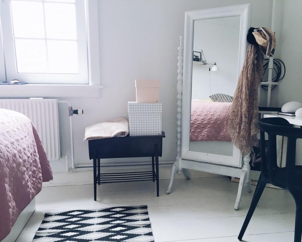 indretning soveværelse