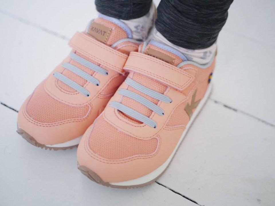 lyserøde sneakers