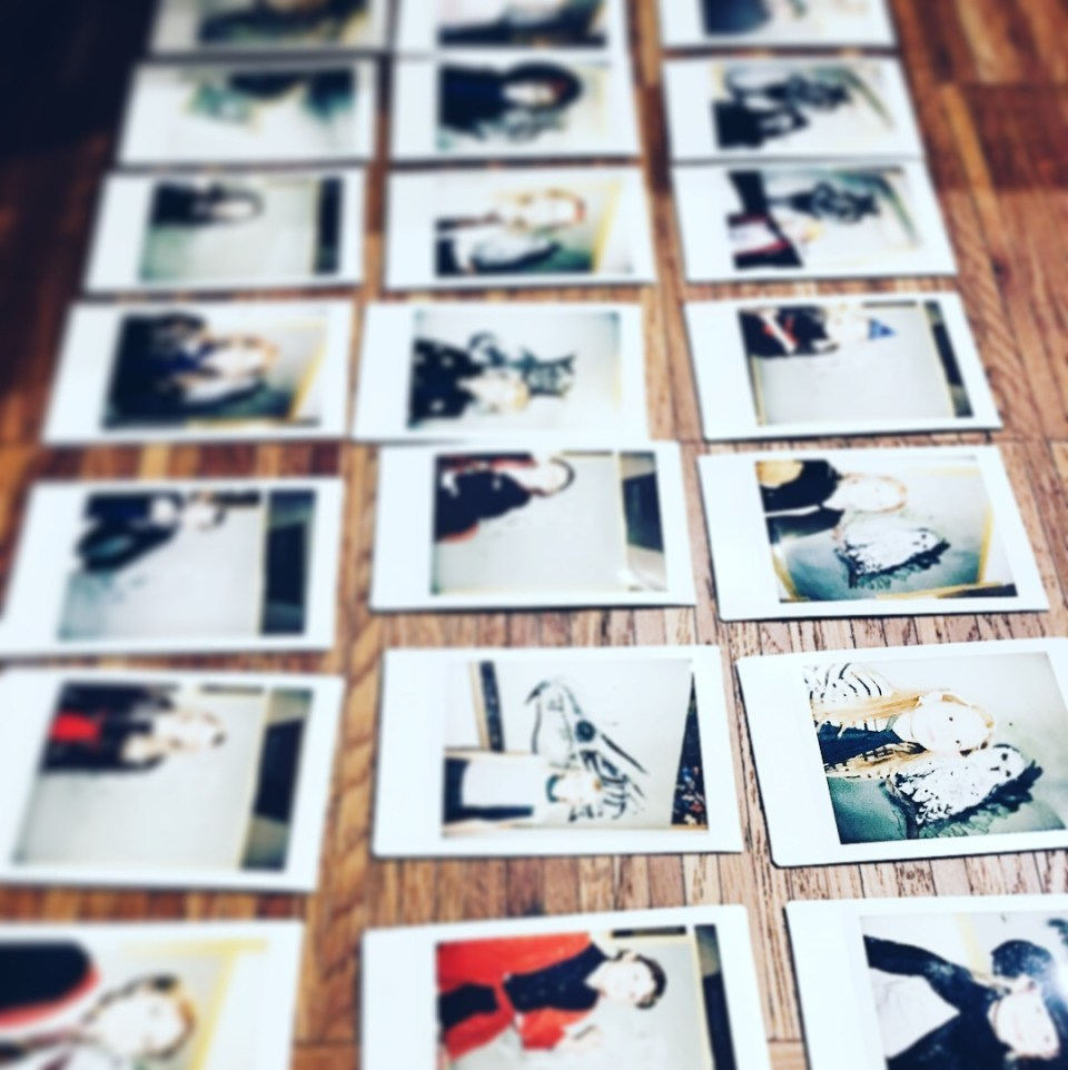 Polaroidbilleder instax