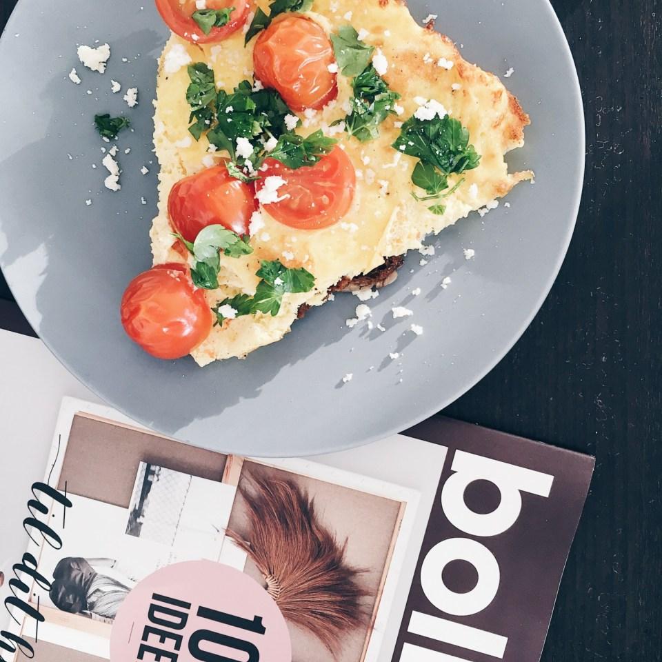 æggekage og magasin