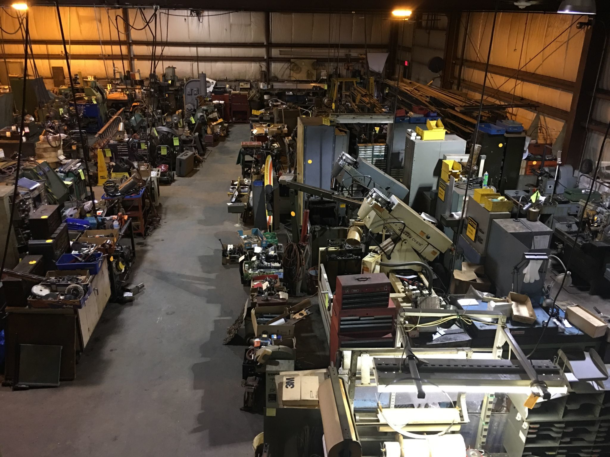 Absolute Industrial Machinery Auction | Buddy Barton ...