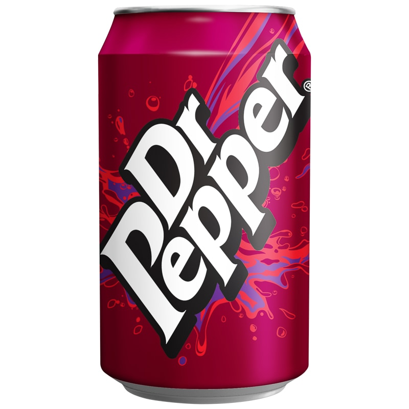 Dr Pepper Can 330ml  Soft Drink Groceries  BM