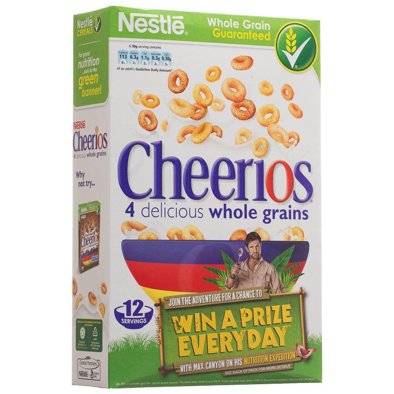 Nestle Cheerios 375g  Cereal Breakfast