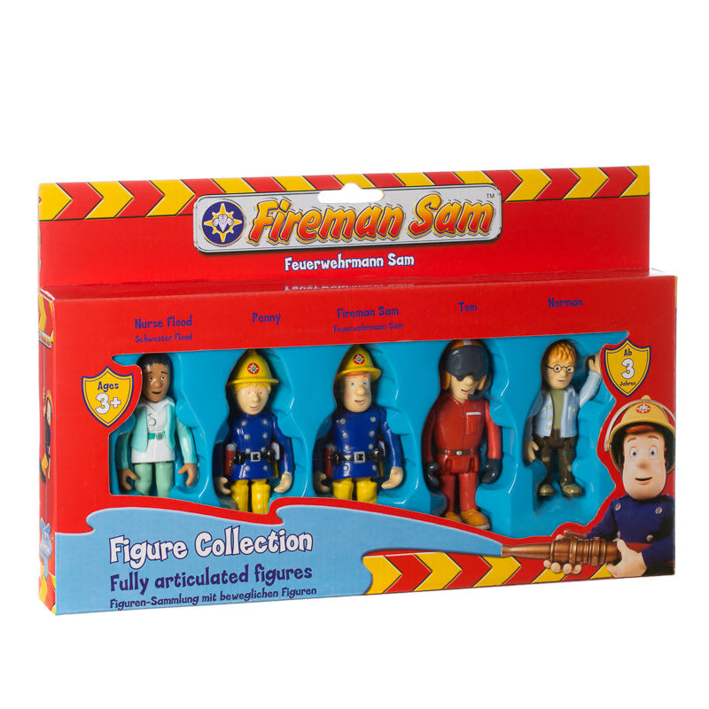 BM Fireman Sam Fully Articulated Figure Collection