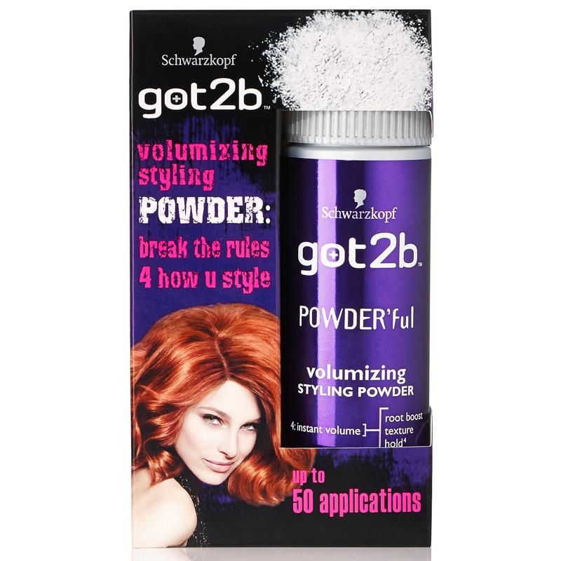 Schwarzkopf Got2b Volumizing Styling Powder  Hair Care  BM