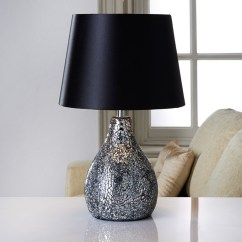 Black And White Kitchen Accessories Discounted Cabinets Ava Mosaic Table Lamp | Lighting, Lamps,
