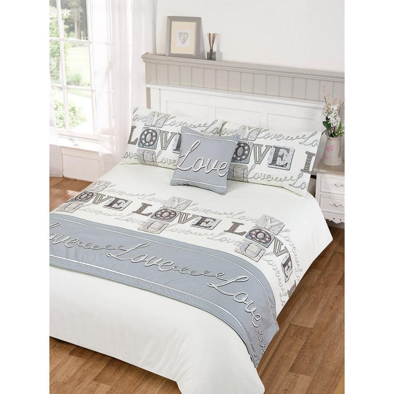 Love Bed in a Bag Duvet Set Double Size  Bedding Bedroom