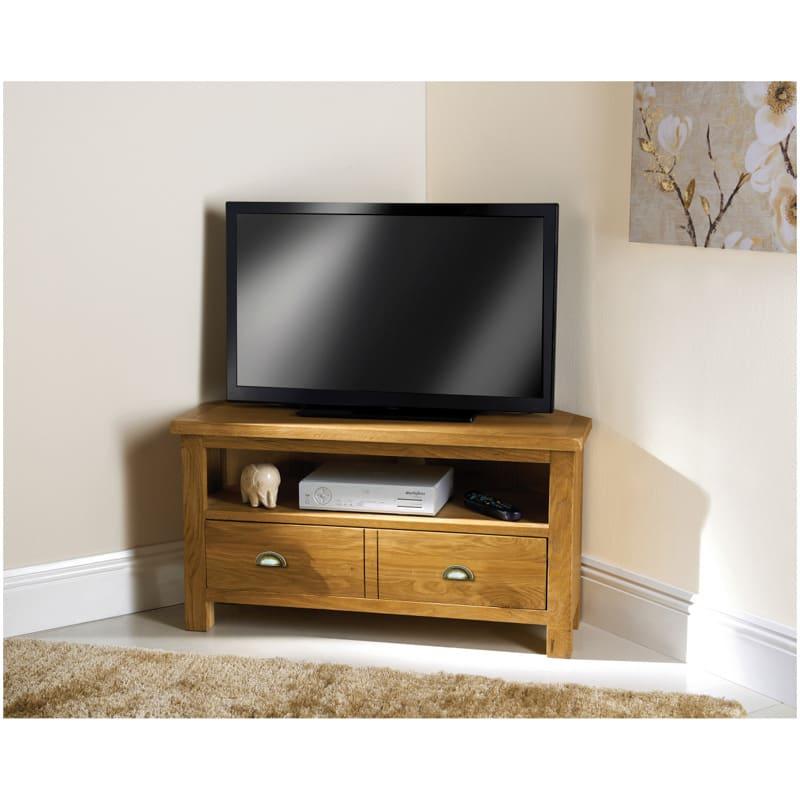 corner media units living room furniture australia wiltshire oak tv unit b m 284693