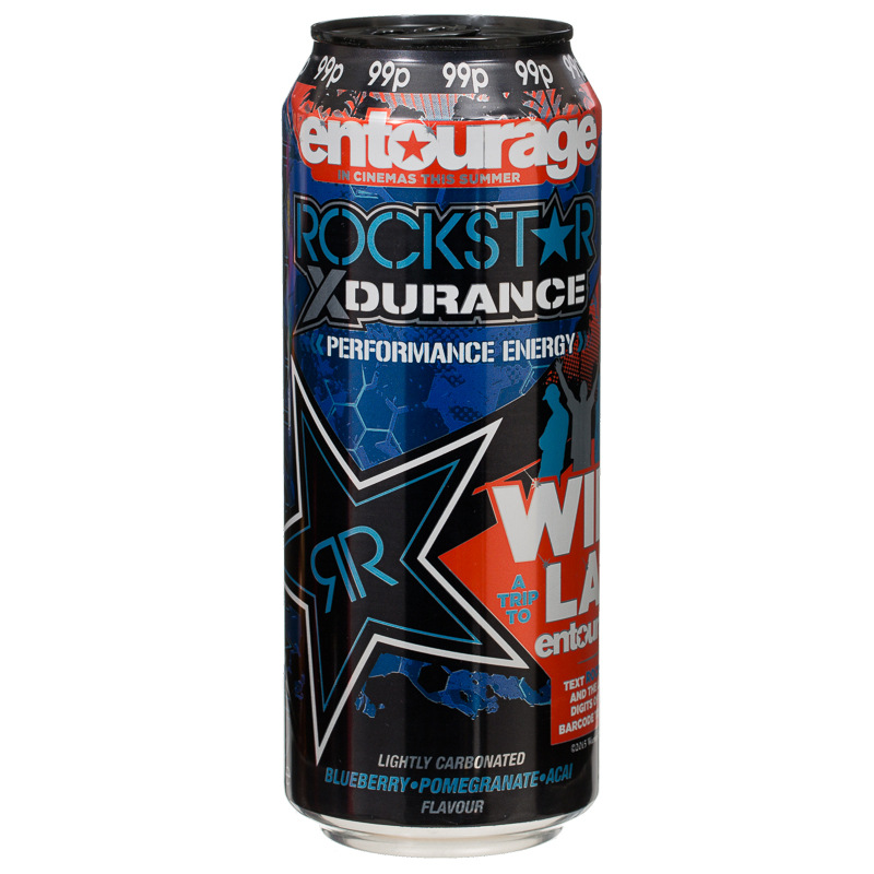 Rockstar Punched Blueberry Pomegranate  Acai Energy Drink