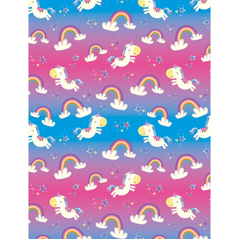 kids everyday wrapping paper